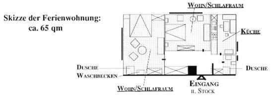 """Ebenerdige Dusche Holzfu?boden : FeWo: """"Rabenhorst"""" – II. Stock"""